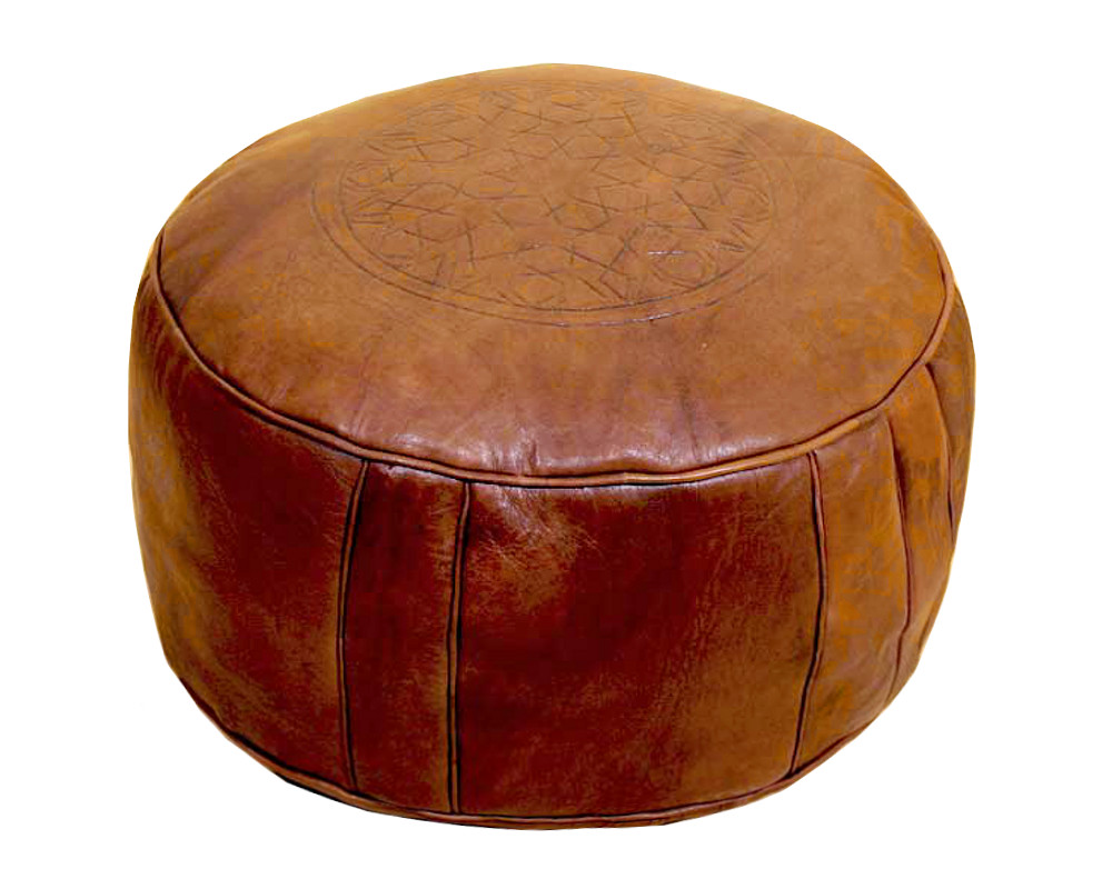 home poufs moroccan leather pouf natur moroccan leather pouf natur